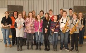 Schülervorspiel 2013 - Holzbläser
